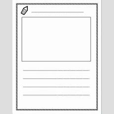 Free Lined Paper With Space For Story Illustrations!  Kinderland Collaborative Pinterest