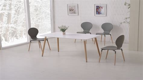 grey and white dining table white dining table and 6 grey chairs homegenies