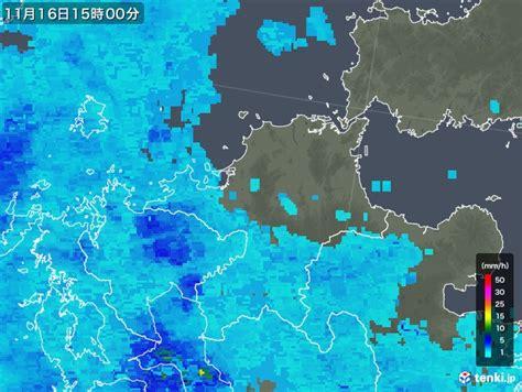 福岡 県 雨雲 レーダー