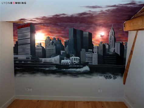 deco chambre new york chambre slyline new york chambre lyonbombing