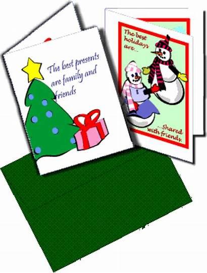 Clip Cards Christmas Card Clipart Envelope Religious