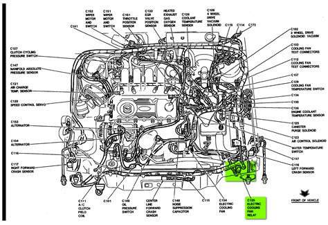 where is the radiator fan relay switch located on 1991 mercury topaz we the new part just