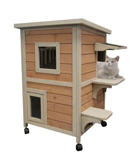 niche exterieur pour chat pas cher niche pour chat et enclos chatterie animaloo