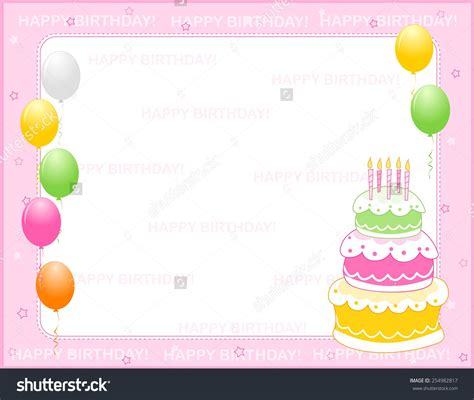 Birthday Card Background by Birthday Invitation Backgrounds