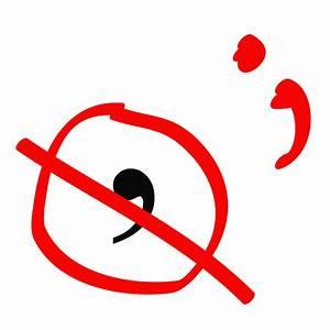 Clipart - Comma semicolon