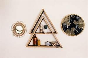Etagere Murale Triangle : les 25 meilleures id es de la cat gorie tag re triangle sur pinterest exposition de ~ Teatrodelosmanantiales.com Idées de Décoration