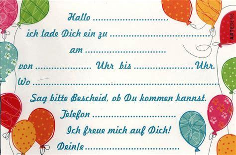 kindergeburtstag einladungskarten kindergeburtstag zum