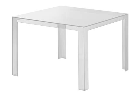 tavolo trasparente kartell kartell tavolo invisible table cristallo pmma