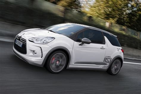 renault grey citroen ds3 racing hatchback review evo