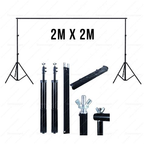 Background Stand Rent 2m X 2m Portable Backdrop Stand Dreamscaper Home