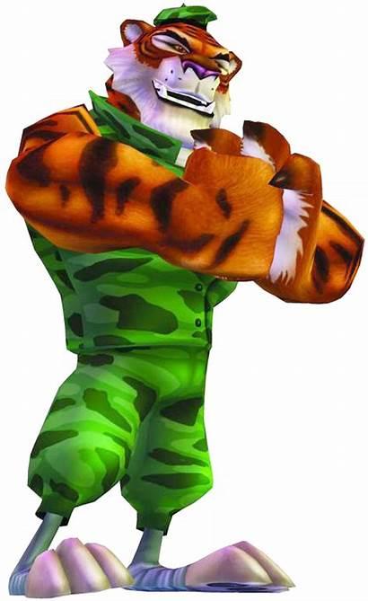 Crash Tiger Tiny Bandicoot Titans Cortex Team