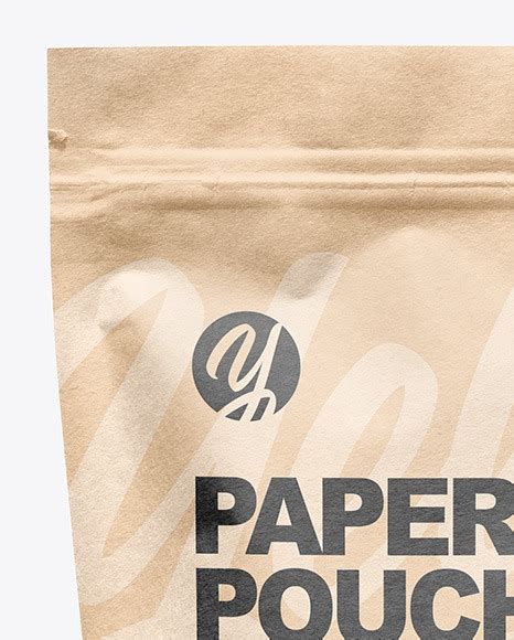 Kraft paper bag with window mockup 3158882. Kraft Paper Stand Up Pouch Mockup in Pouch Mockups on ...