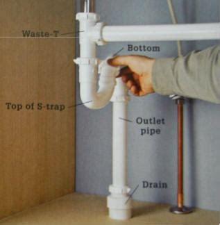 how to install pvc pipe under kitchen sink kitchen sink drain installation