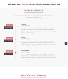Jquery Resume Animation by 1000 Images About 7 Of The Best Resume Cv Vcard Joomla Themes On Joomla Themes