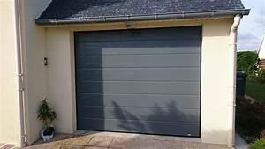 porte de garage grise max min With porte de garage sectionnelle grise