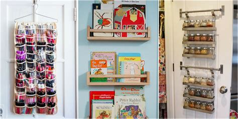Closet Door Storage by Closet Door Storage Ideas New Uses For Closet Doors