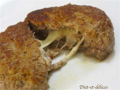 recettes de steak hach 233 et mozzarella