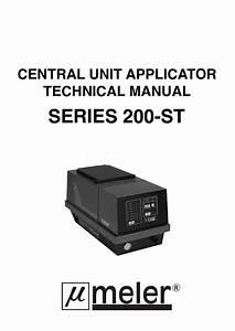 Manual Ml-200-st Eng By Meler