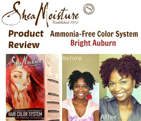 shea moisture hair color system sheamoisture ammonia free hair color system review
