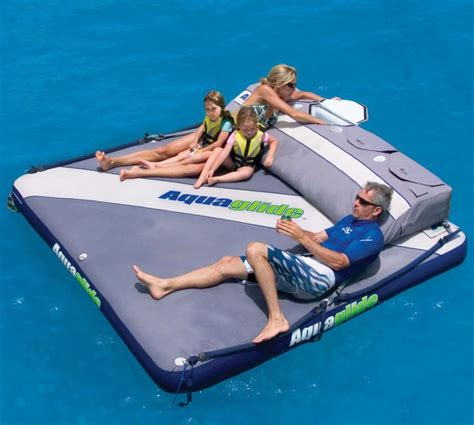 Big Boat With Fan by Floating Mattress With Cooler