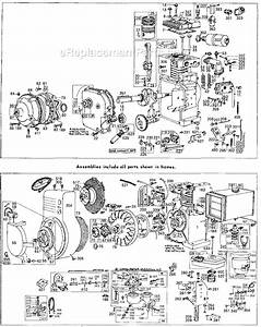 Briggs And Stratton 141300 Series Parts List And Diagram