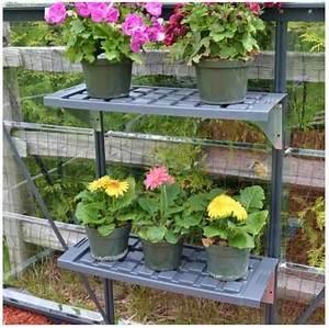 Etagere Pour Serre : kit double tag res pour serre de jardin palram ~ Premium-room.com Idées de Décoration