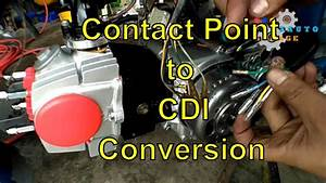 Honda C70 Convert Wiring Ex5  Contact Point To Cdi