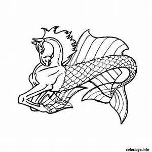 Comment Dessiner La Mer : coloriage cheval de mer dessin ~ Dallasstarsshop.com Idées de Décoration