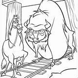 Horse Buck Buffalo Junior sketch template