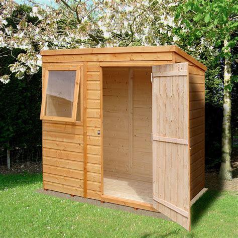 caldey pent shiplap wooden shed departments diy  bq