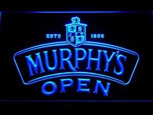 Murphy s Open LED Neon Sign