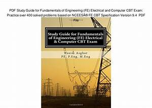 Ncees Fe Electrical And Computer Practice Exam Pdf