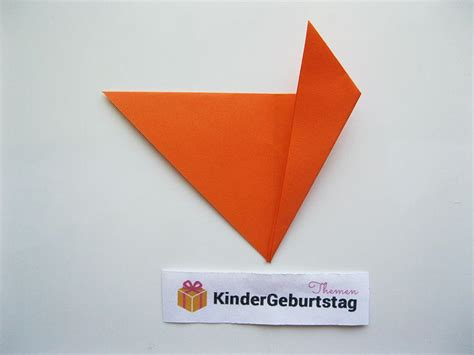origami fuchs anleitung origami fuchs falten nachmittagsbetreuung kindergarten and craft