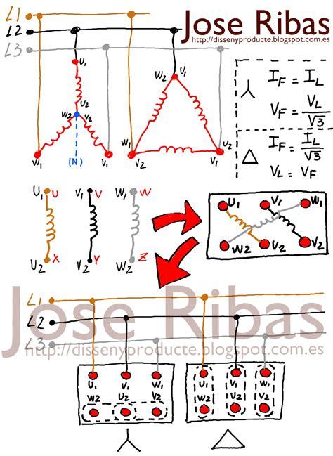 arranque estrella resistencias tri 225 ngulo con inversi 243 n de giro y frenado jose ribas