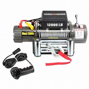 Off Road Winch With Automatic Load