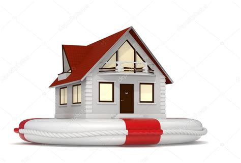 Hausversicherung  Symbol — Stockfoto © Jocky #11371337