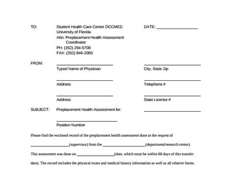 medical fax cover sheet templates   ms word