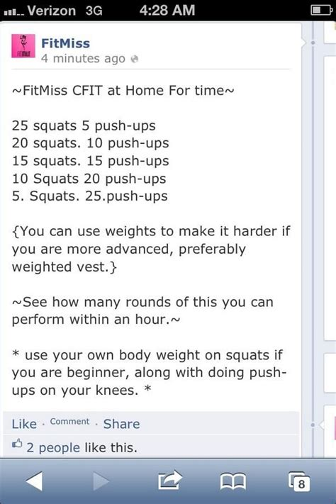 CrossFit Workout at Home