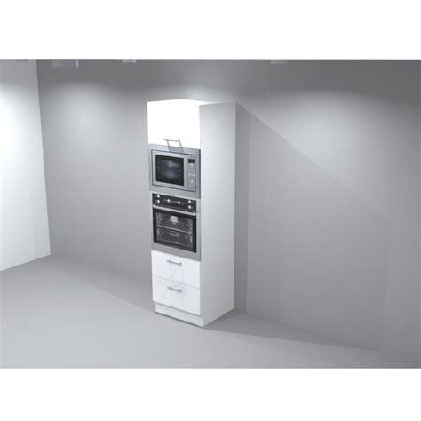 meuble cuisine pour four et micro onde colonne four micro onde encastrable porte lift et casserolier