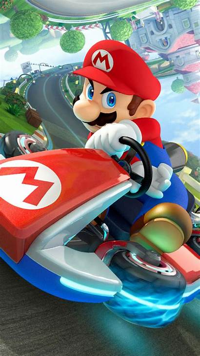 Mario Kart Super Iphone Wallpapers Backgrounds Racing