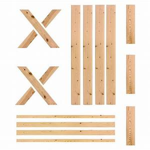 barn door 36 by 80 inch unassembled unfinished pine With 26 inch barn door