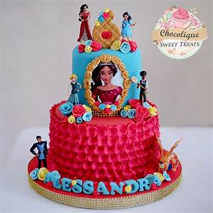 Elena of Avalor Cake for Alessandra – Chocolique