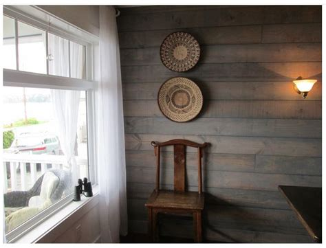 shiplap  transparent water based driftwood stain