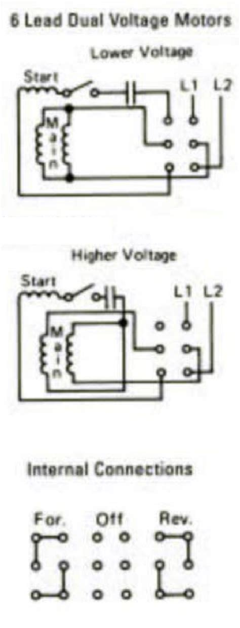 wiring diagram for boat lift motor help wiring 240v motor for forward and on