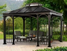 Grand Resort Patio Furniture by Vielseitig Verwendbar Mehreckige Pavillons Mit Alugestell