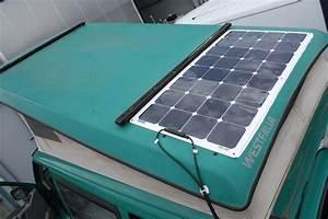 Installation Panneau Solaire : l 39 installation d 39 un panneau solaire sur un vw california ~ Dode.kayakingforconservation.com Idées de Décoration