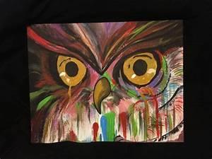 Owl acrylic painting   Paint   Pinterest   Acrylic ...