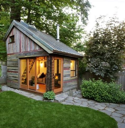 a small house in the garden ideas for home garden