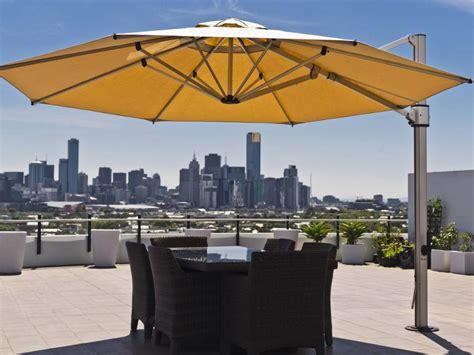 eclipse cantilever square umbrella commercial patio umbrellas babmarcom