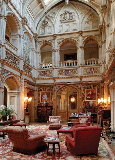 Highclere Castle  Historic Interiors Pinterest